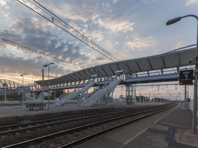 Passerelle gare de Blois